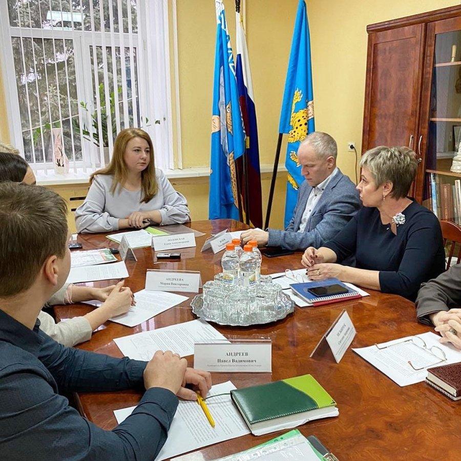 Совещание у Главы города Пскова