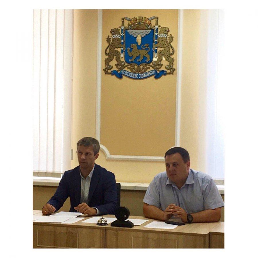 Заседание временной рабочей группы по мониторингу социально-экономического положения в городе Пскове