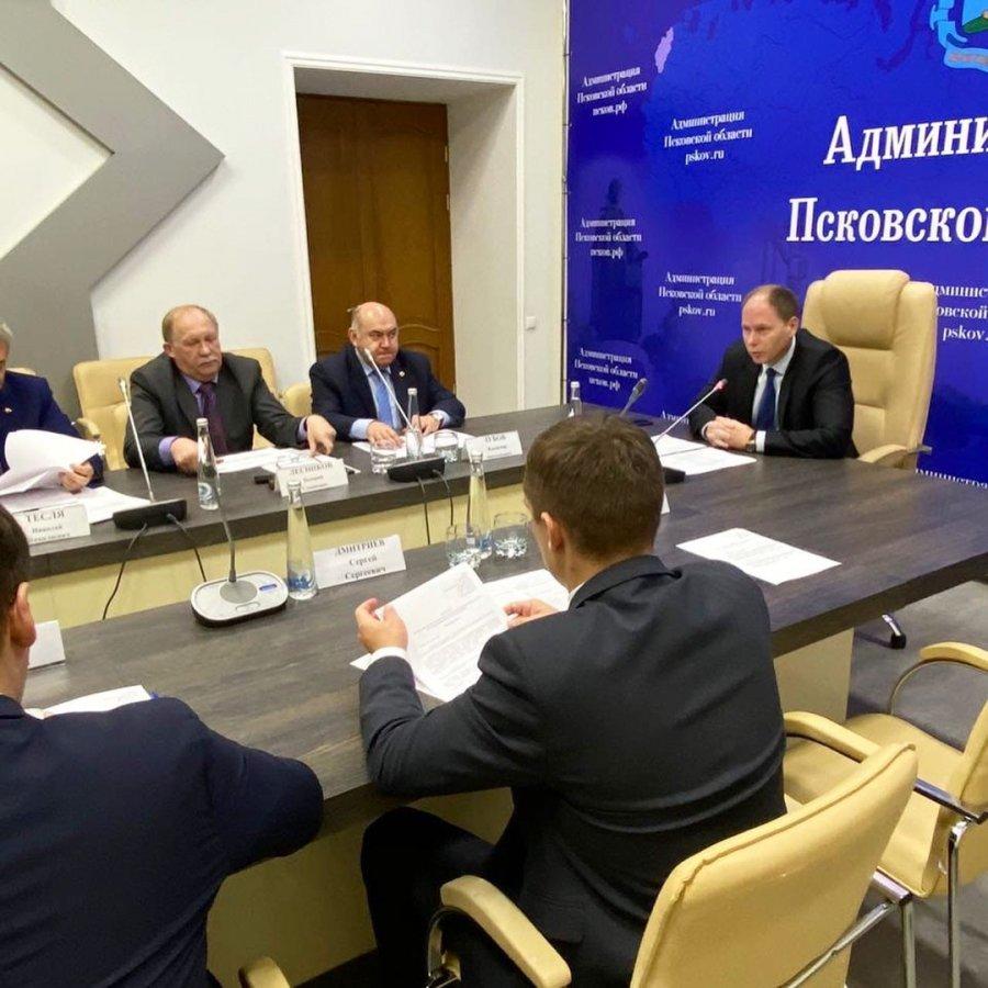 Заседание Консультационно-экспертного Совета при Уполномоченном по защите прав предпринимателей в Псковской области