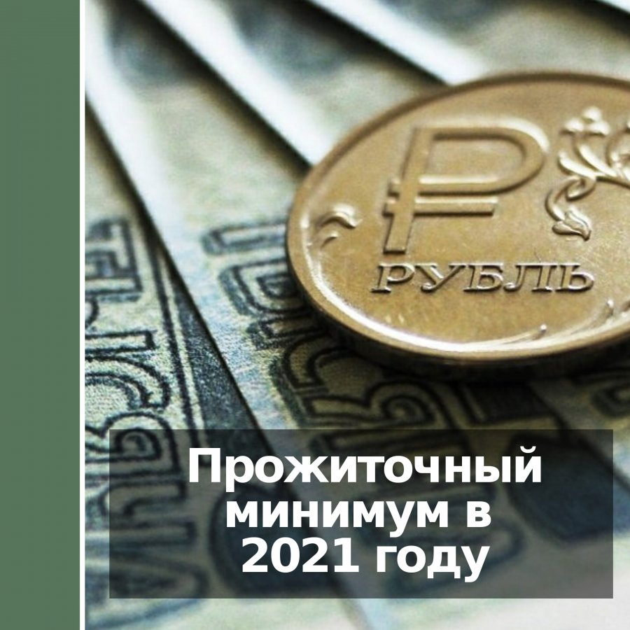Установлен прожиточный минимум для россиян в 2021 году