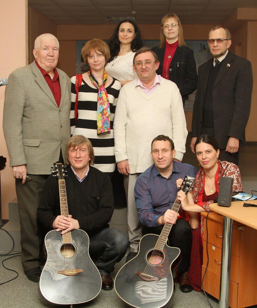 В среду состоялся творческий вечер группы «Октябрьский проспект»