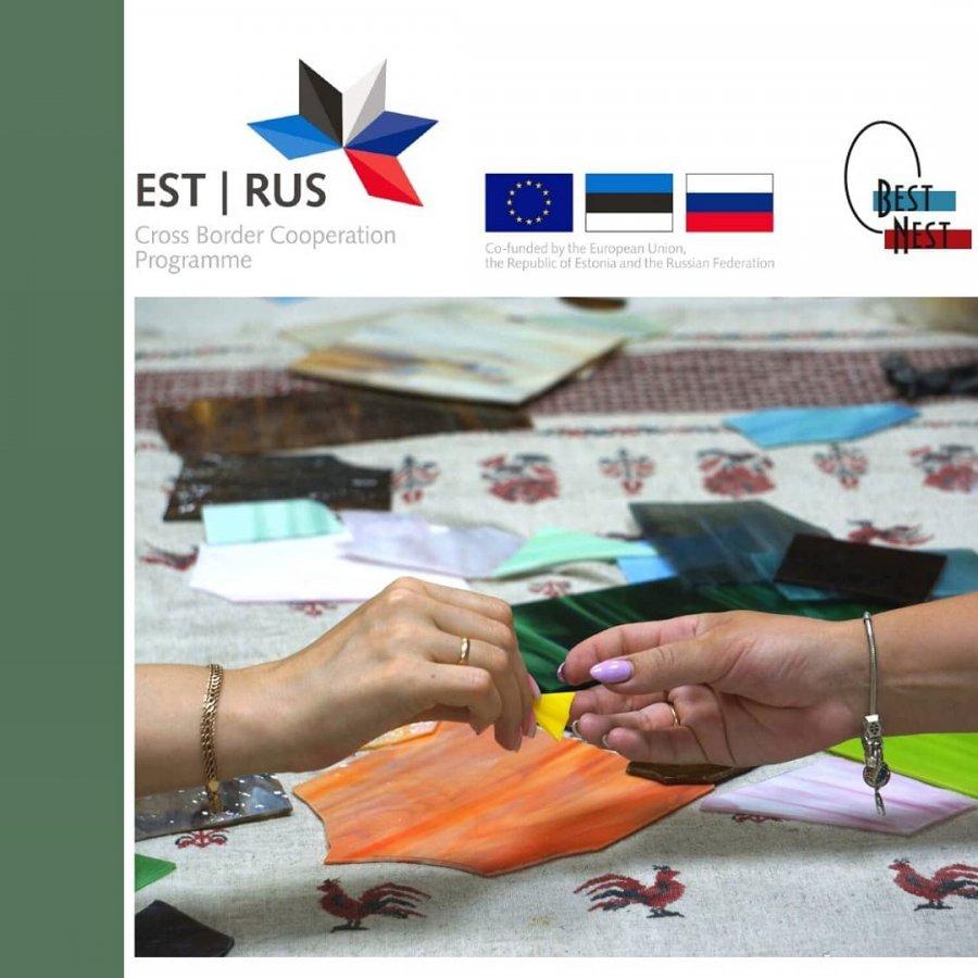 Мастер-класс Тамары Васильевой «Изготовление сувениров из стекла в технике фьюзинг» для предпринимателей Пскова