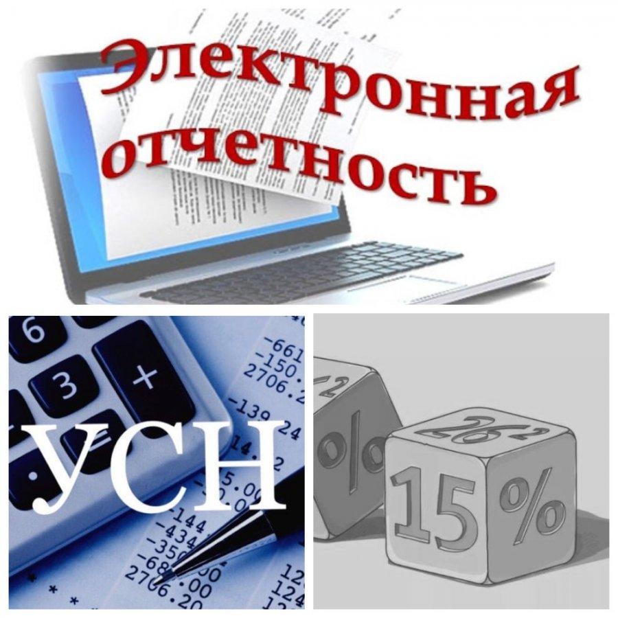 Отправка электронной отчётности включается в расходы по УСН