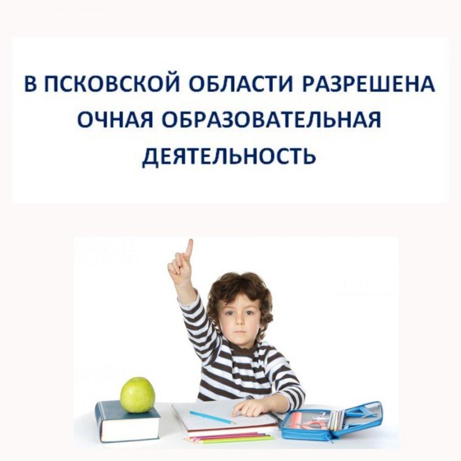 Разрешена общая образовательная деятельность